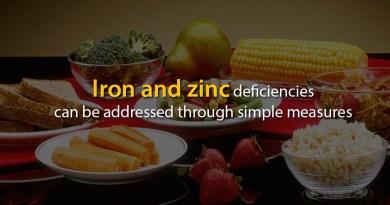 Iron-and-zinc-deficiencies