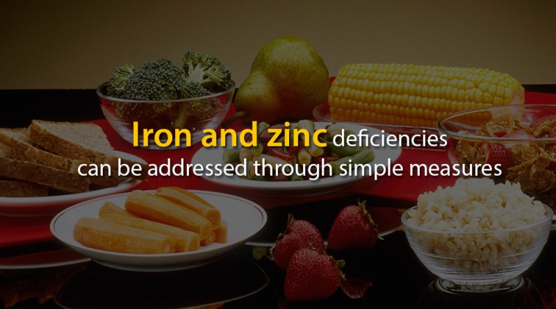 Iron-and-zinc-deficiencies