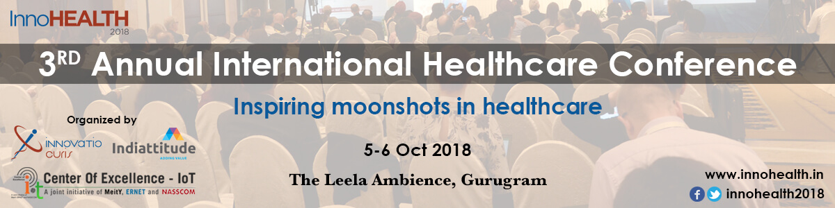 InnoHEALTH 2018 banner - InnoHEALTH magazine endorsed event