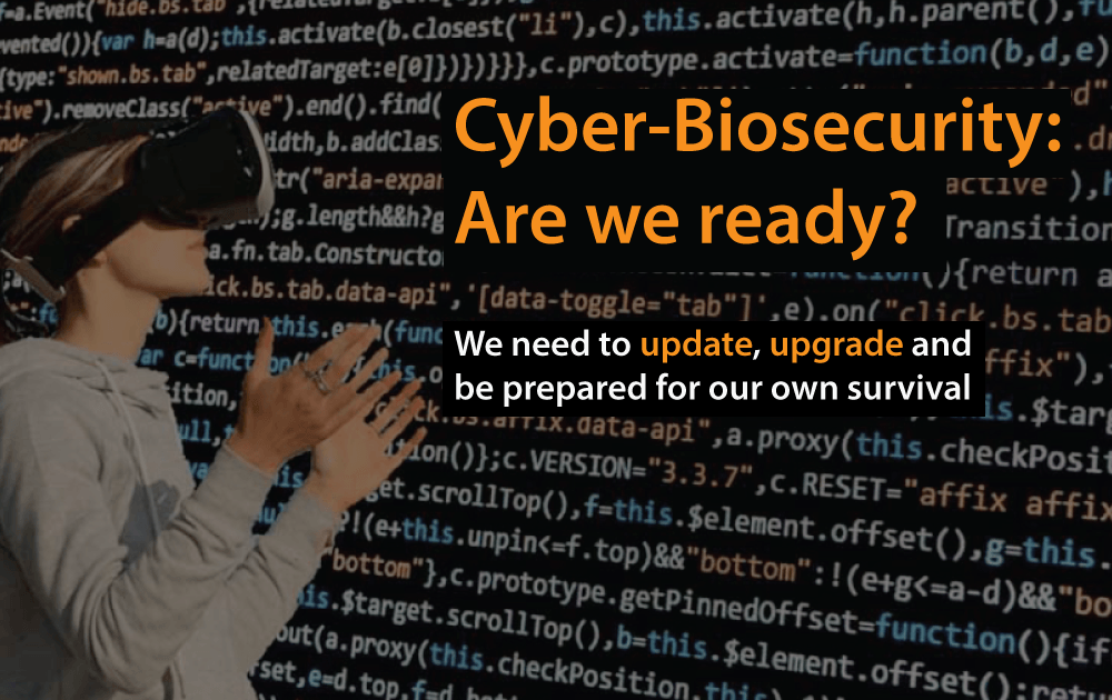cyber-biosecurity