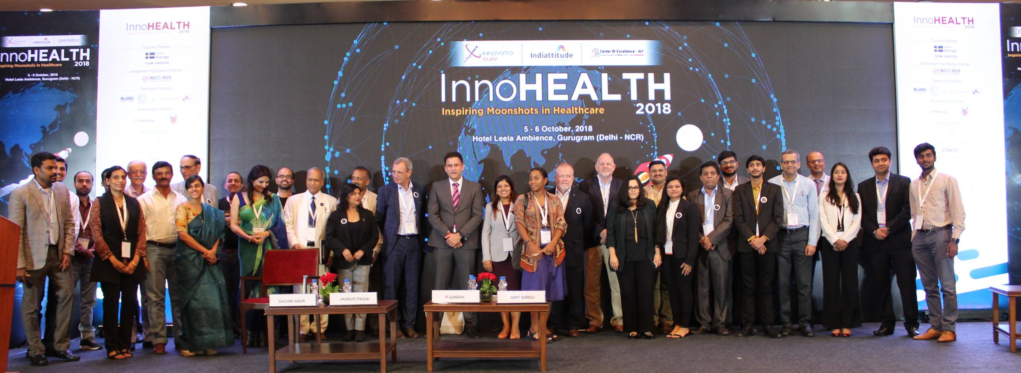 InnoHEALTH 2018 conference group photo