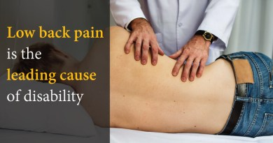 Low back pain is the leading cause of disability worldwide