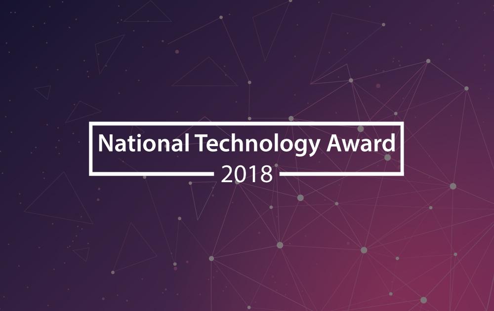 National Technology Awards 2018 1