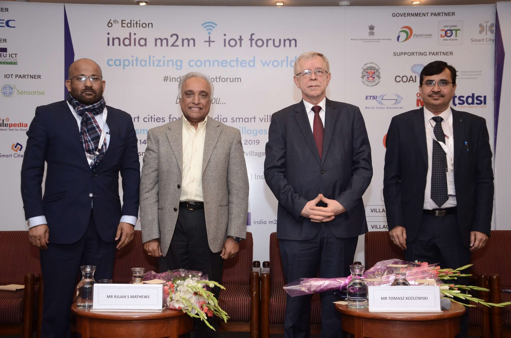 6th Edition of India m2m + iot Forum 2019 1
