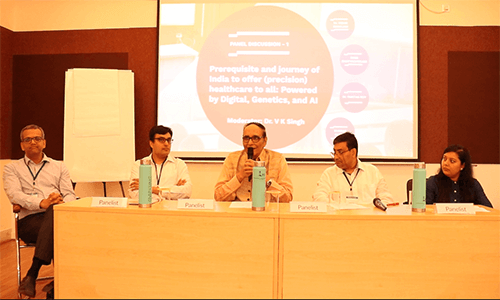 Ananda-Sen-Gupta-Dr.-Vidur-Mahajan-Dr.-VK-Singh-Partha-Roy-and-Rima-Bhattacherjee-in-panel-discussion-at-IC-InnovatorClub-Meeting (1)
