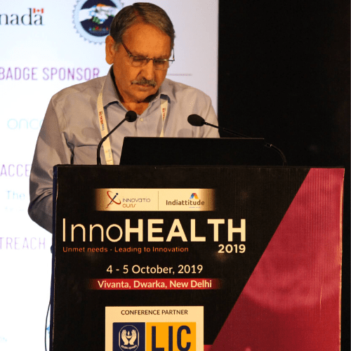 Karnal Singh at InnoHEALTH 2019