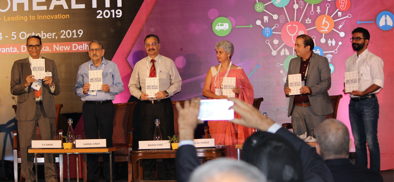 """The book """"Unmet Medtech Needs in India"""" by Mr. Ravi Jangir, launch became the major highlight."""