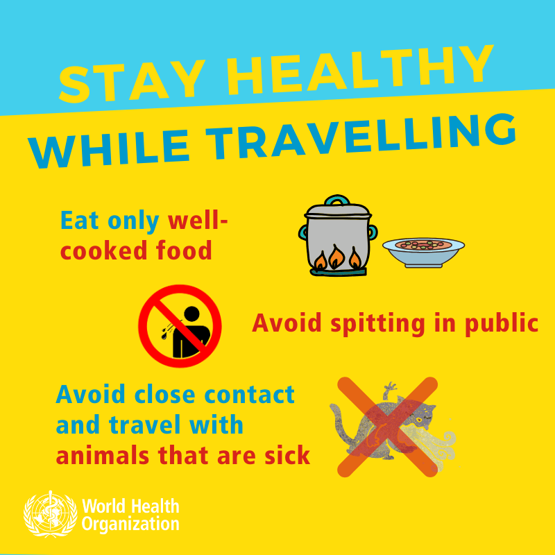 Coronavirus - Stay healthy while traveling-5