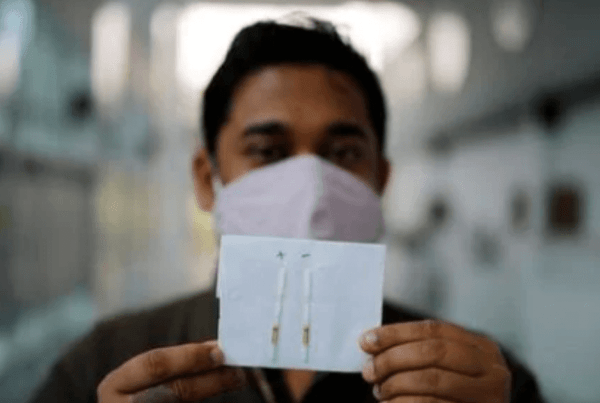 FELUDA paper strip test for COVID-19 detection_InnoHEALTH Magazine article featured image for Wordpress and Facebook