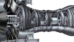 Afbeelding 2: gelegeerde titanium componenten in een straalmotor.