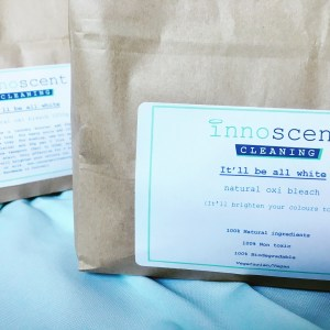 Innoscent Cleaning's natural bleach