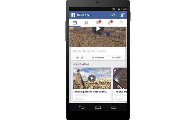 Facebook усиливает видео-рекламу и предлагает долю от доходов создателям