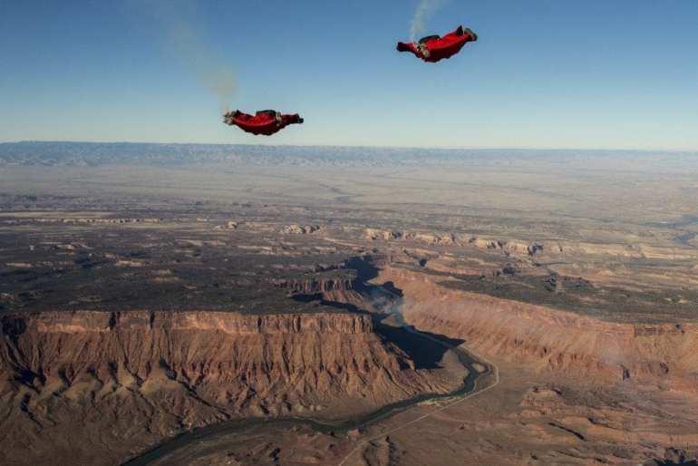 Jon DeVore and Mike Swanson in Moab, Utah