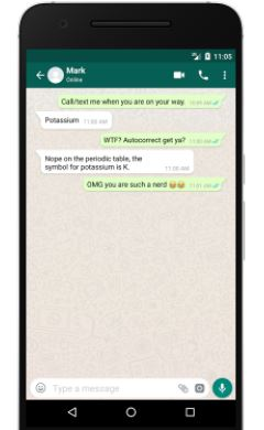 Image result for images of whatsapp conversation
