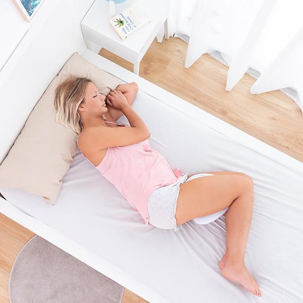 Almofada ergonómica para joelhos e pernas