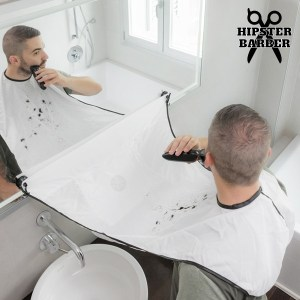 Babete para a barba com ventosas Beard Bib