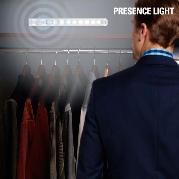 Luz LED com sensor de movimento