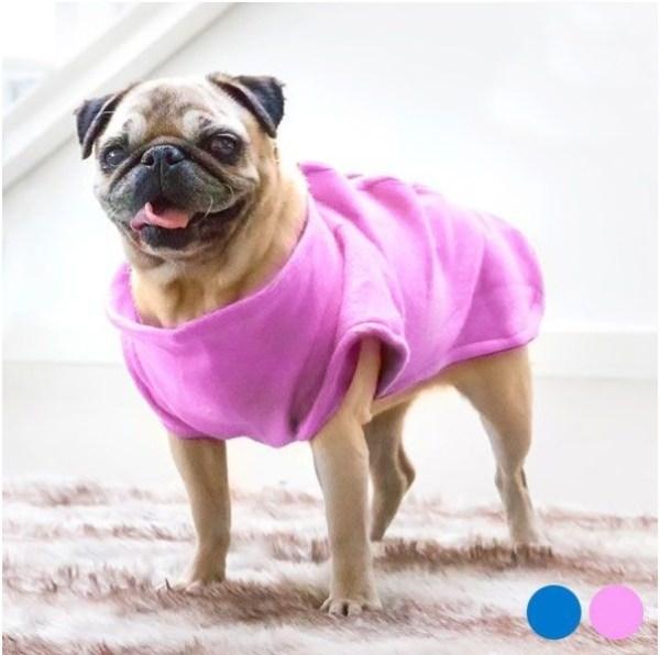 Manta Snug para Cão porte pequeno - Cor de Rosa