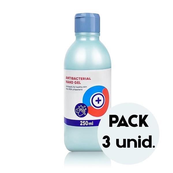 Pack de 3 Gel de Mãos Desinfetante 250ML