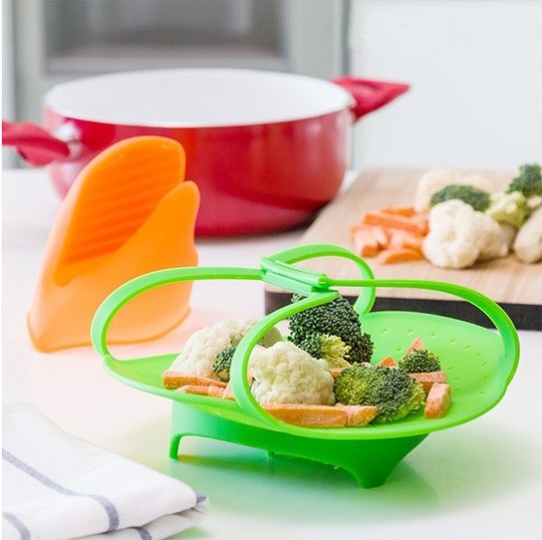 Vaporeira de silicone dobrável Kitchen Foodies