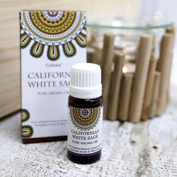 Óleo de fragrância de Sálvia Branca