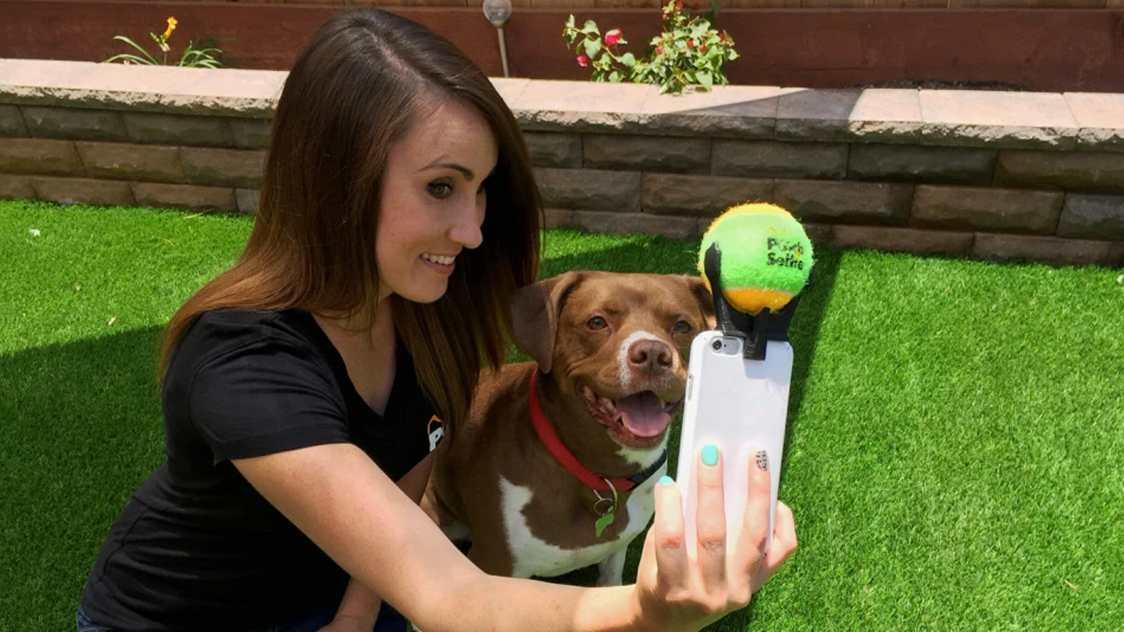 Selfie con tu querida mascota - Trucos para tus fotos con celular