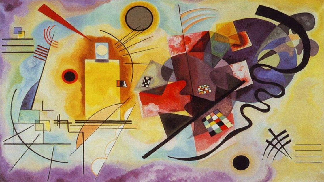 Wassily Kandinsky Gelb Rot Blau 1925 e1552534450252 - 100 Años de la Bauhaus