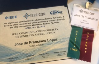 IEEE CQR Session Chair