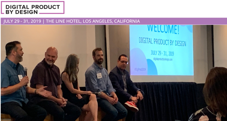 Digital Product by Design 2019 - Panel Discussion