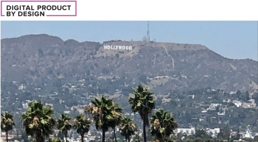 Digital Product by Design Hollywood Sign