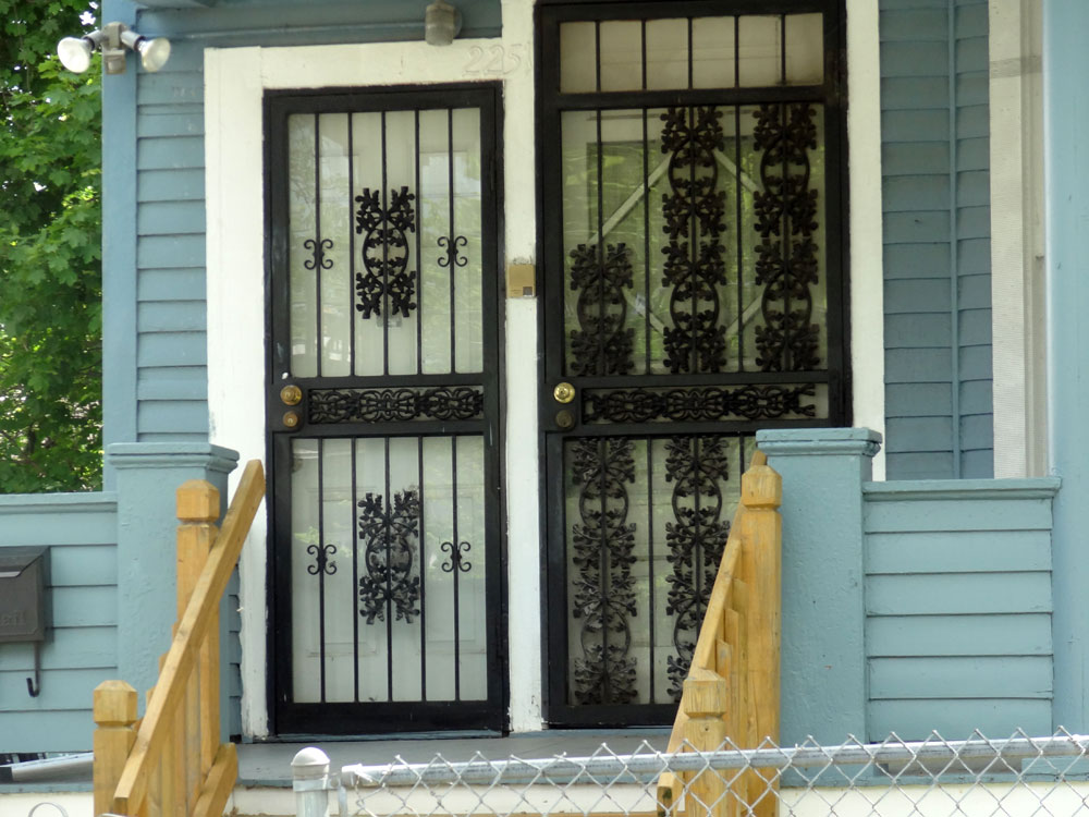 Steel Security Screen Amp Storm Door Front Doors Cleveland