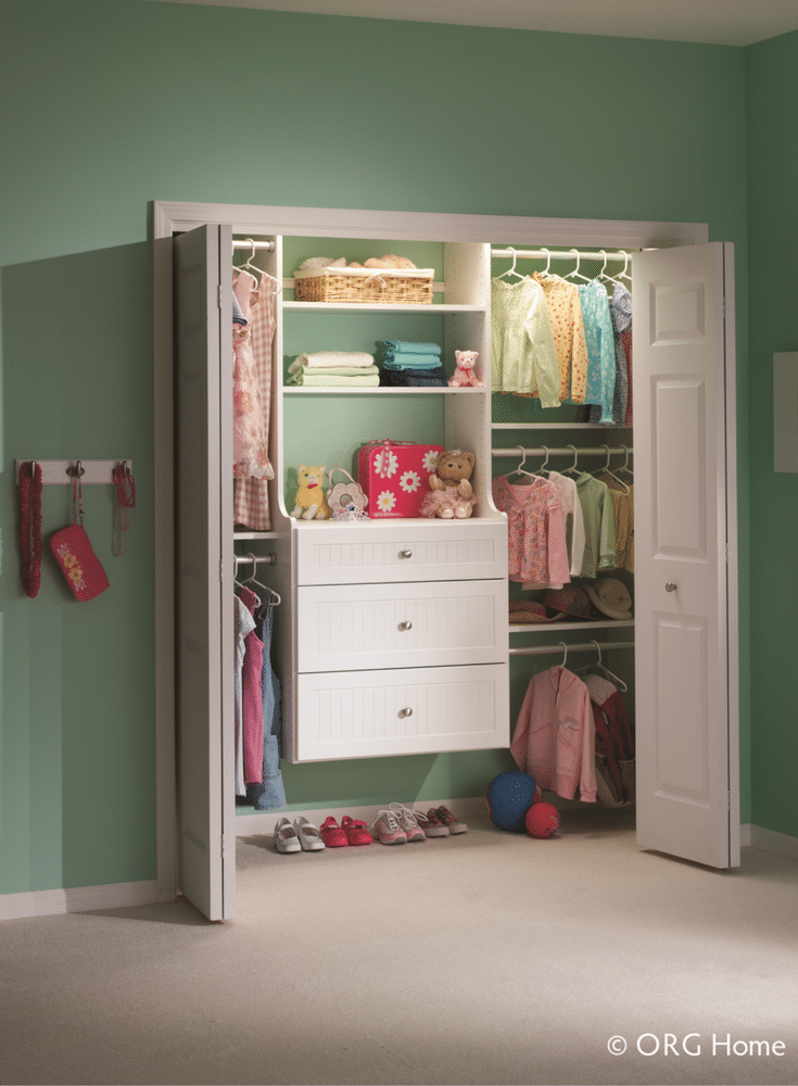 Clothes Closet Pull Out Rods