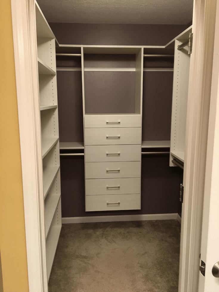 walk in or reach in closet design