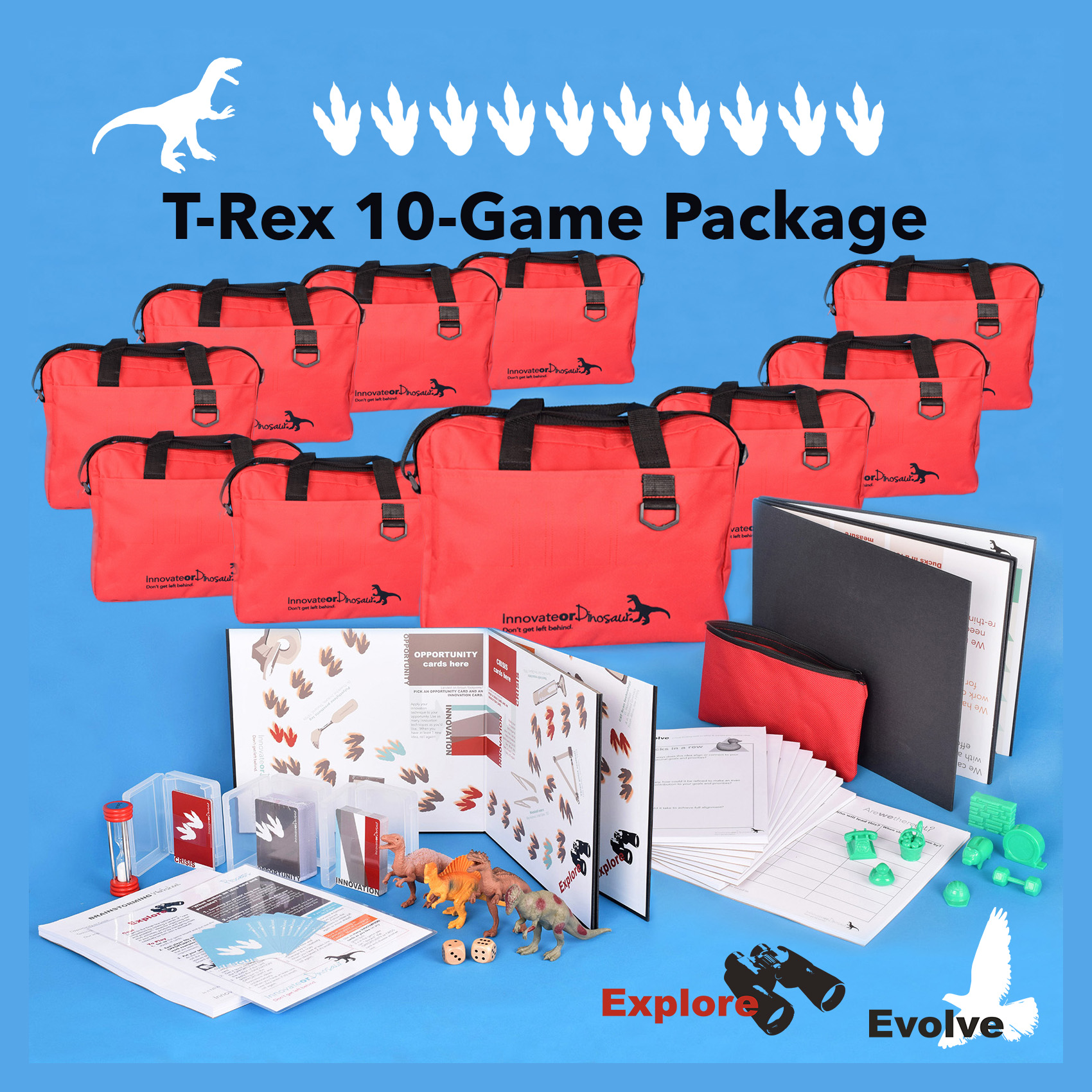 T-Rex 10 game package