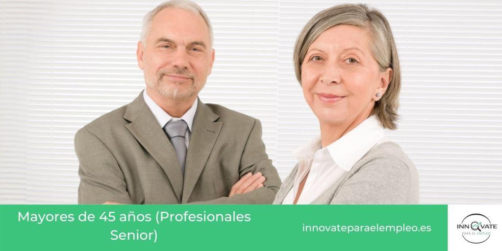 Listado de portales de empleo para mayores de 45 años