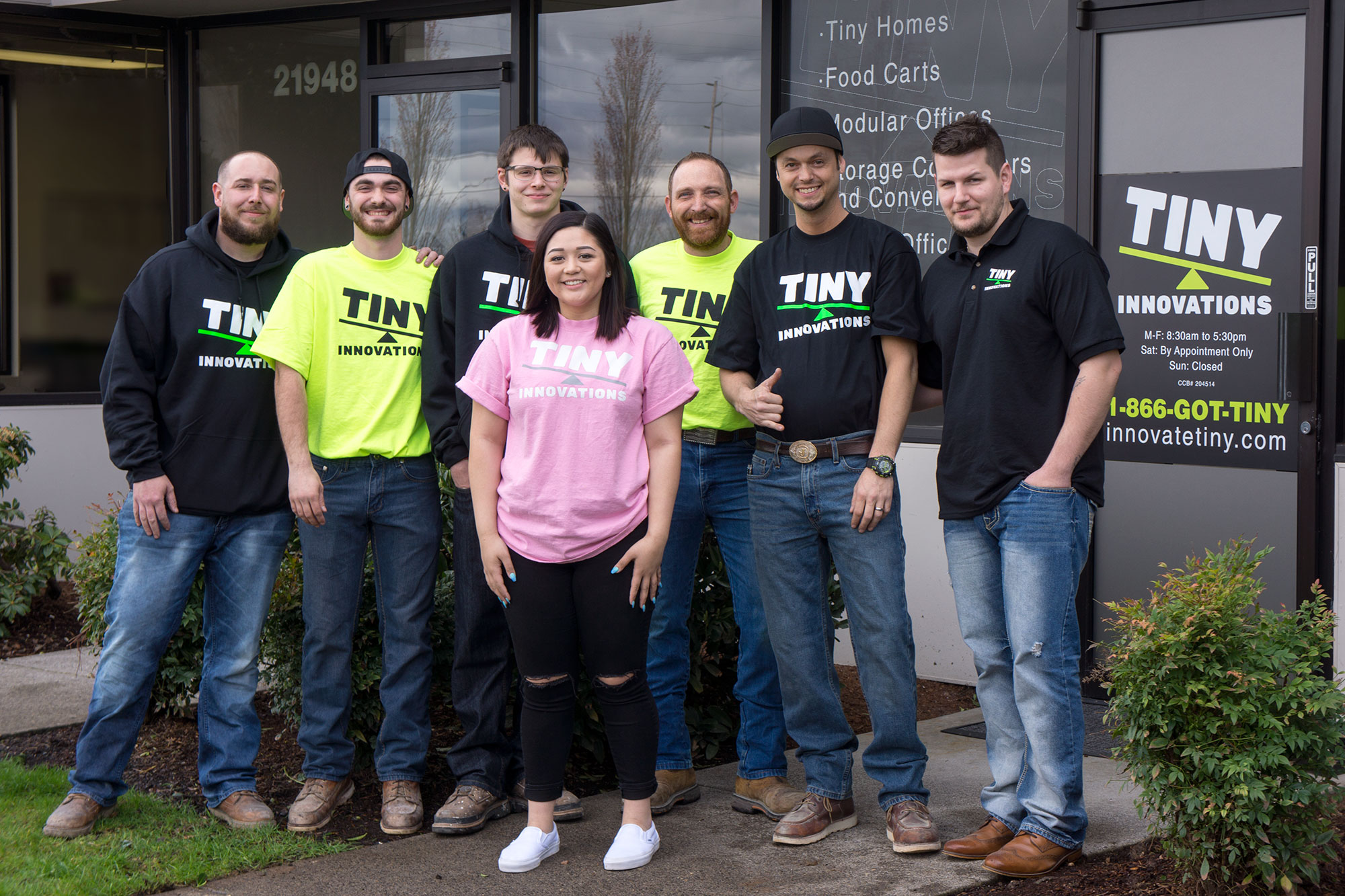 The Tiny Innovations team