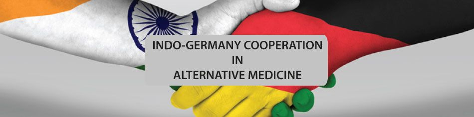 Indo-Germany cooperation in alternative medicine