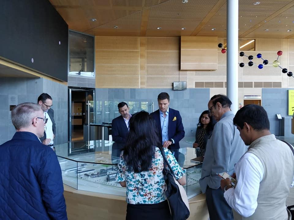 InnoBRIDGE team visit to AstraZeneca Careers1