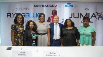 AirFrance KLM Jumia Nigeria