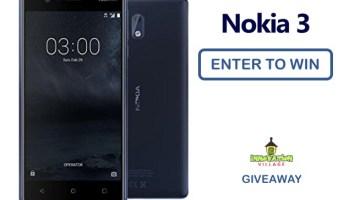 Nokia 3 Giveaway