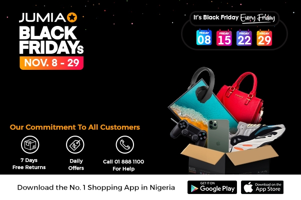 Black Friday: Jumia to Attract a Surge of New Shoppers to