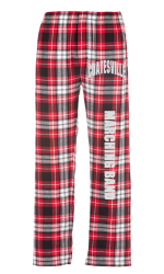 Boxercraft Classic Flannel Pants #F20RB - red  black 2