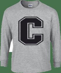 Gildan Cotton LS T-shirt - C black