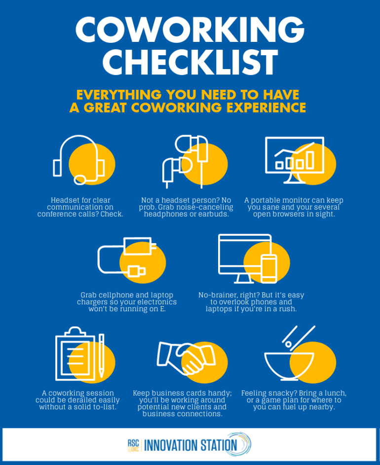 Coworking checklist: everything you need to have a great coworking experience