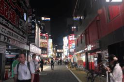 Shinjuku Neighborhood is very busy at night!