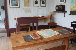 The old one room school house