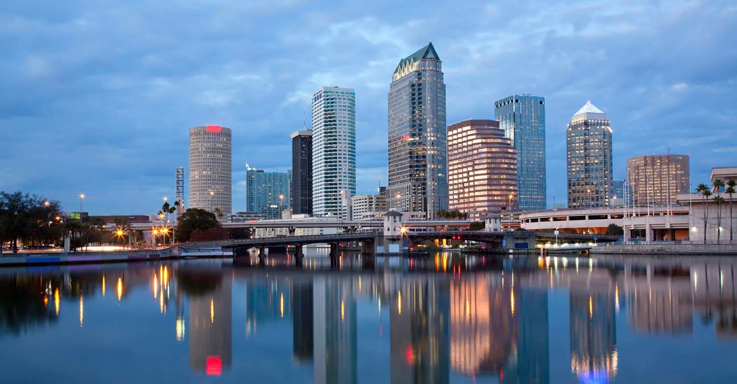 Oakpoint Advisors - tampa downtown skyline