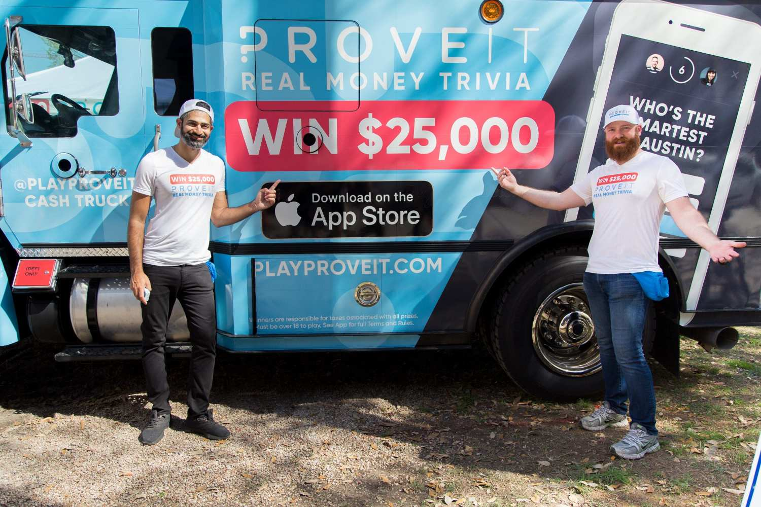 Proveit Founders and Cash Truck