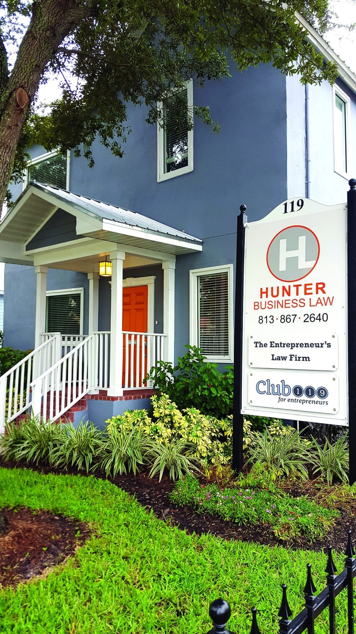 Hunter Business Law newest building