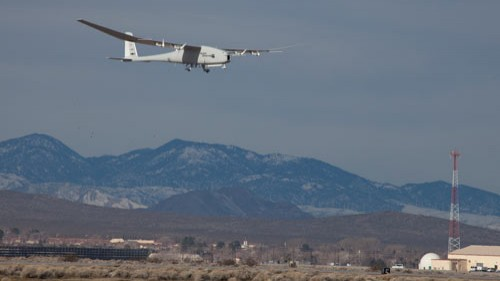 Global Observer's maiden hydrogen-powered flight (USAF)
